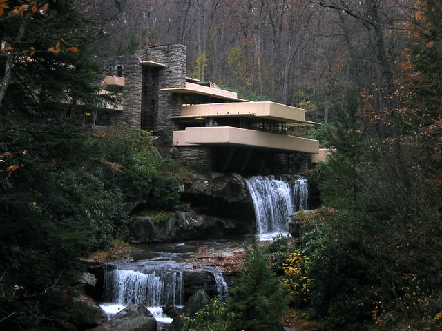 Falling Water Pennsylvania Phil Romans Flickr