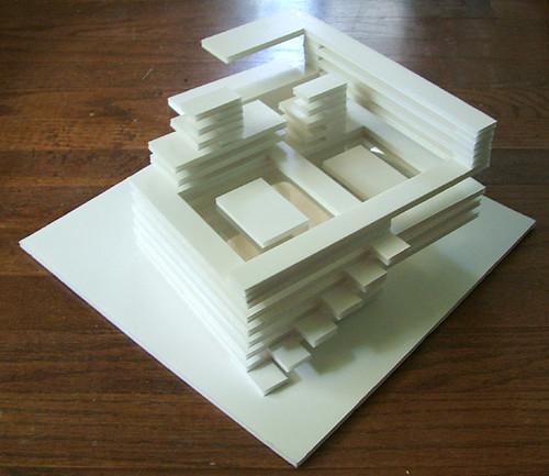 Building Foam Board Models Making House Scale Model