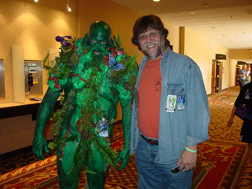 Swamp Thing & Len Wein at CONvergence 2005 | by Lexinatrix