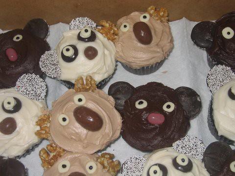 Cupcakes de Koala And Koala Bear Cupcakes