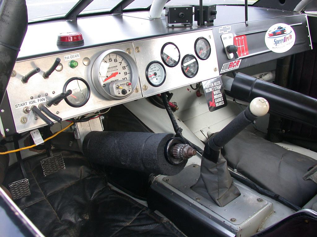 Nascar Dashboard The Inside Of The 24 Jeff Gordon Car