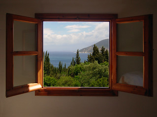 Out my window - Cephallonia, Greece vacation | by mnadi