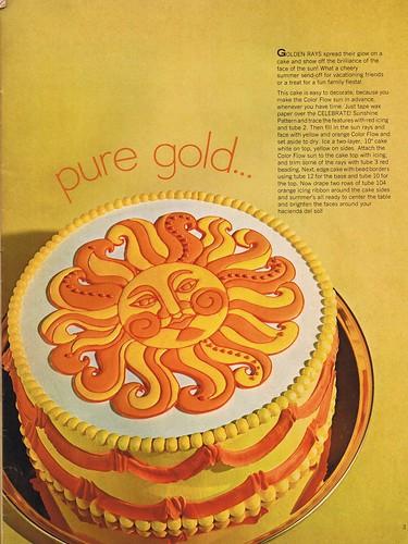 Sun Cake Pan