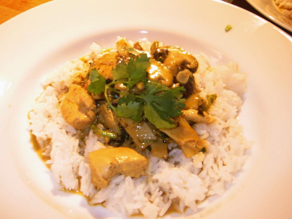 Main Course Thai Food