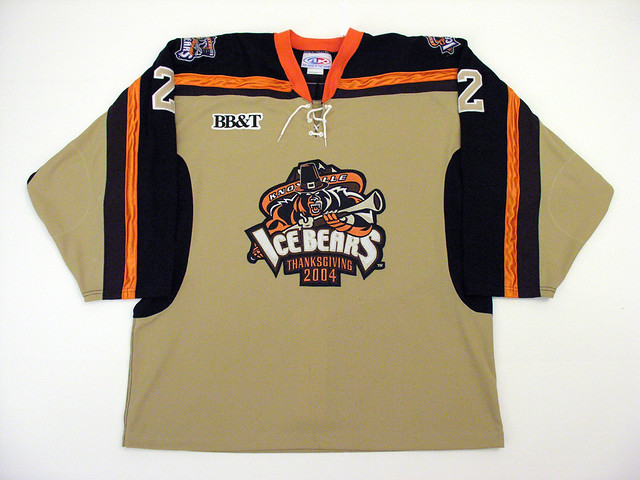 ... Todd Paul Knoxville Ice Bears  17c4d9b76ac