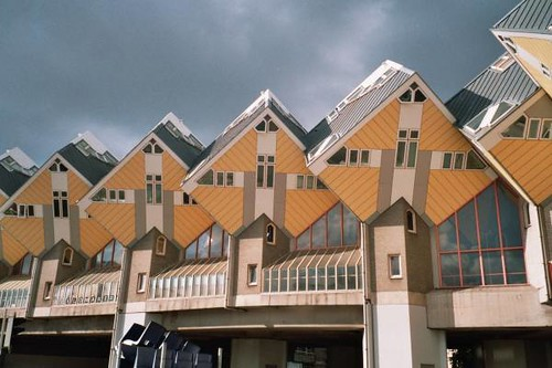 Cube Houses (Rotterdam Architecture) | by fraktalisman