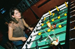 allyson thought he should play some foosball | by janeymoffat