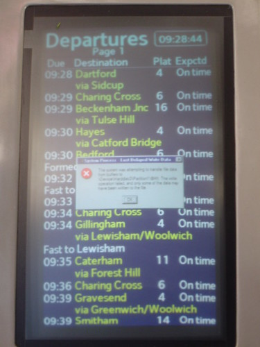 Windows Disk Write Error at London Bridge | by LinkMachineGo