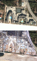 """Official"" NOLA Flood Image Overlay for Google Earth - Before/After 
