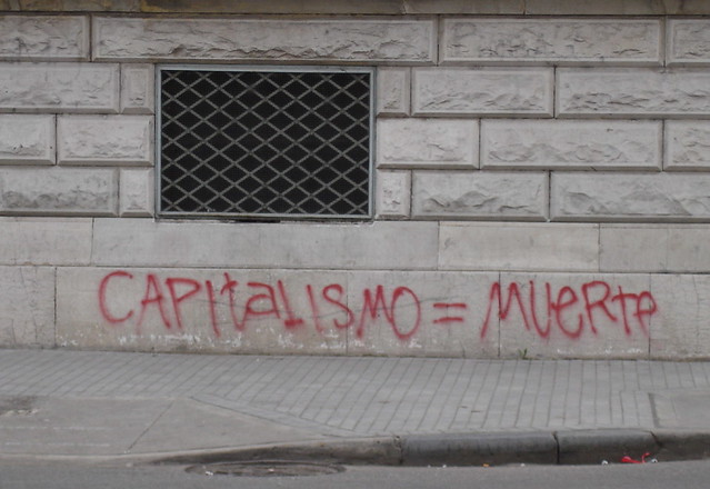 Capitalism = death | by gaviota paseandera