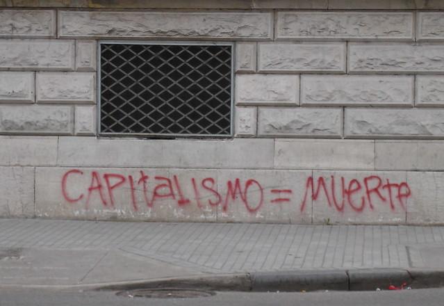 Capitalism = death | by gaviota paseandera