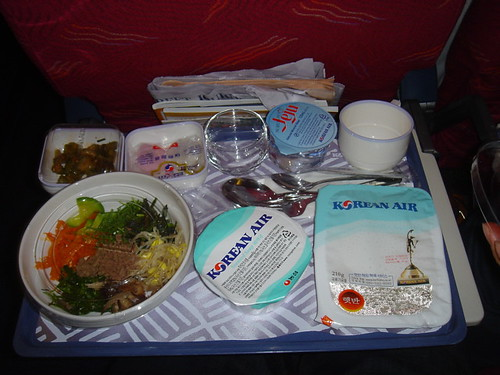Korean Air - Is This The Best Airplane Food? - YouTube