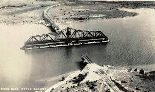 Swing Bridge, Little Current, Manitoulin Island, Ontario ...