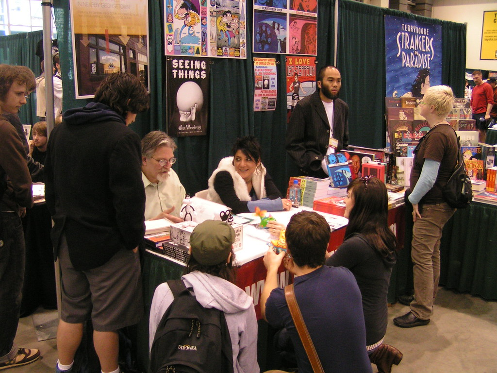 Jim Woodring And Ellen Forney At The Fantagraphics Booth. Holiday Closed Signs. Julie Hanks Signs. Movie Signs. Compressed Air Signs. Nosocomial Pneumonia Signs. Coma Signs. Algorithm Signs Of Stroke. Xing Signs