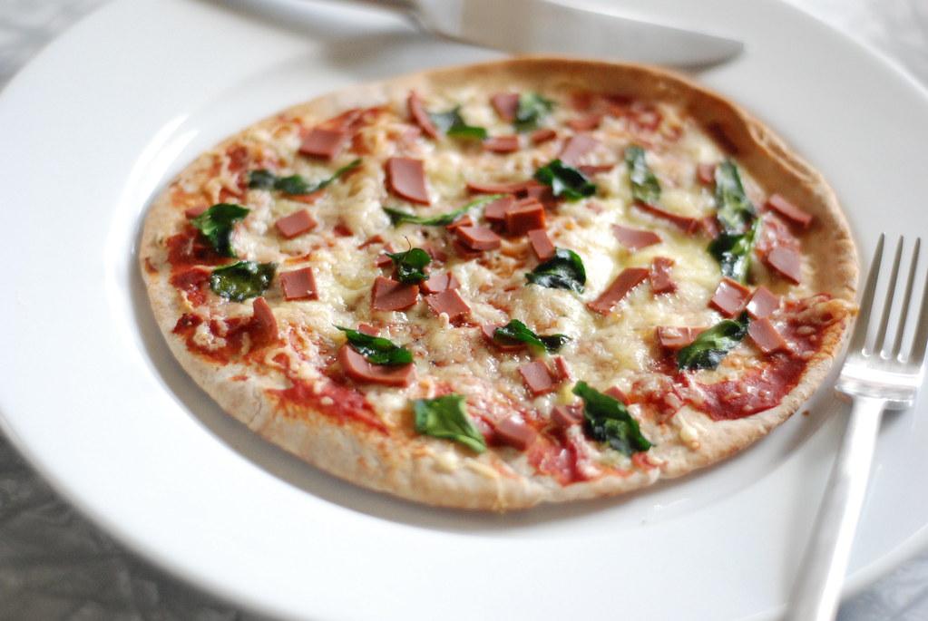 Whole Wheat Pita Pizza