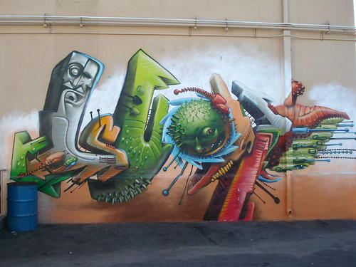 Seak LosAngeles Graffiti Art | by anarchosyn