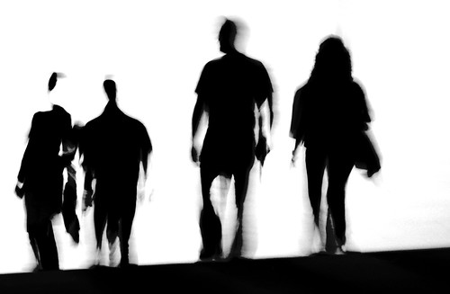 Silhouettes  IV - IMG_1795 BW ed + cr | by Dimitris Papazimouris