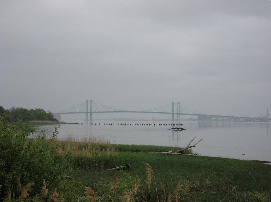Delaware Memorial Bridge  Delaware On The Left New