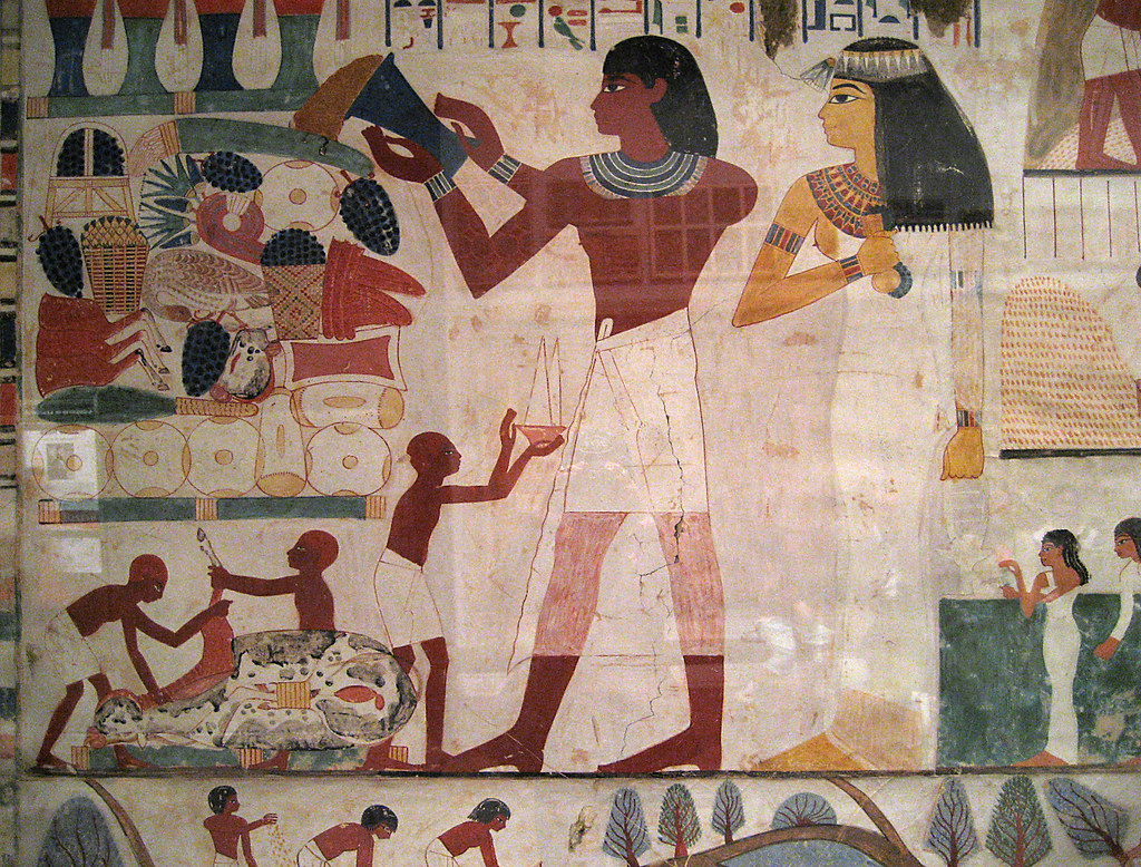 Merveilleux ... Egyptian Wall Paintings From The New Kingdom | By Maulleigh