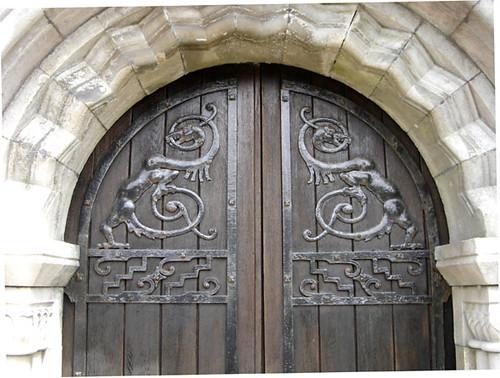 Celtic Animal Church Door Leighanne Croft Flickr