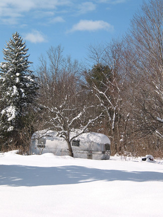 airstream in snow | by MaryJaneM
