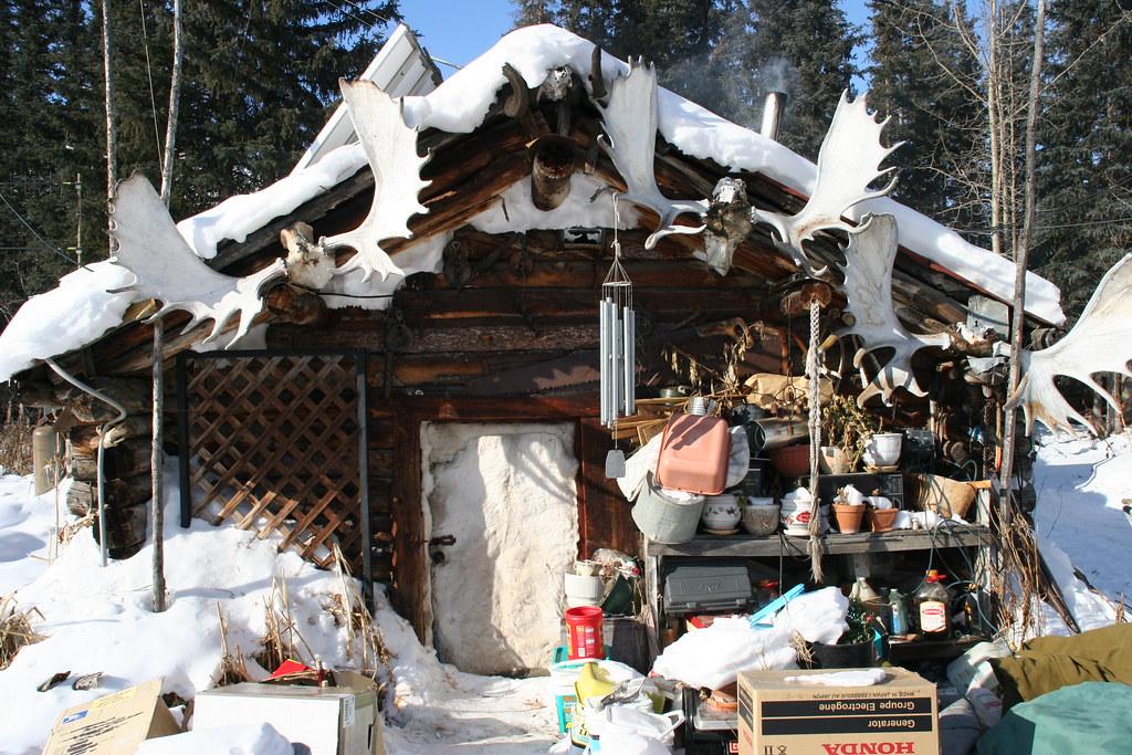 Jack Reakoff S Cabin Wiseman Alaska 2007 This Is The