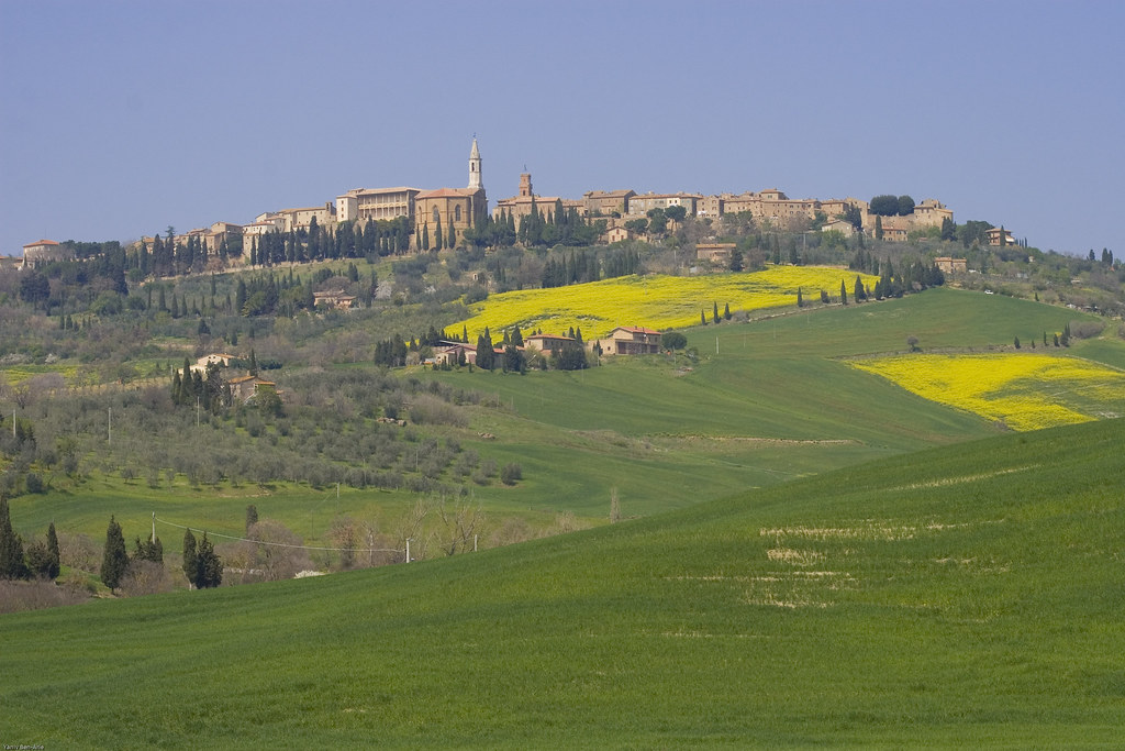 A view of Pienza