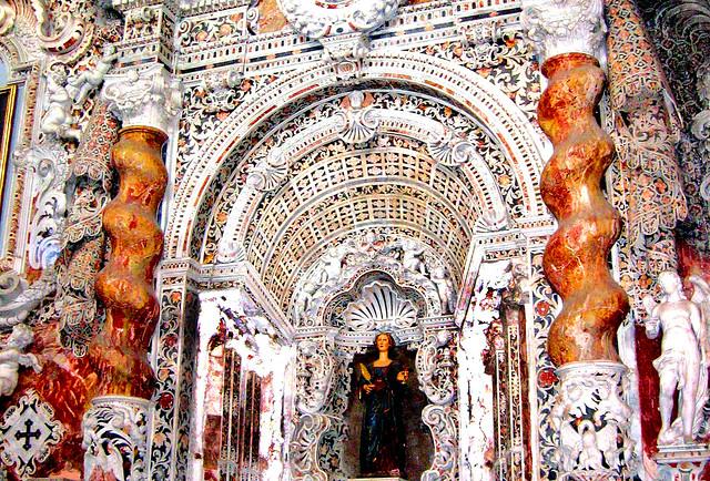 L Horror Vacui Del Barocco Santa Maria In Valverde A