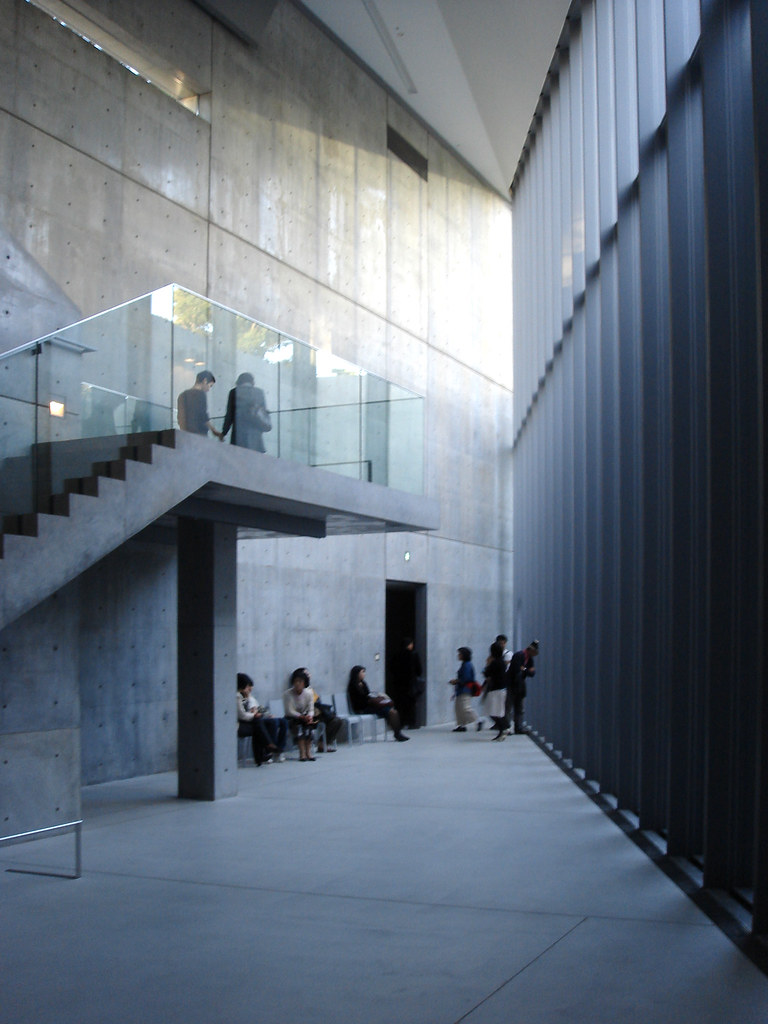 exhibition of tadao ando at 21 21 design sight