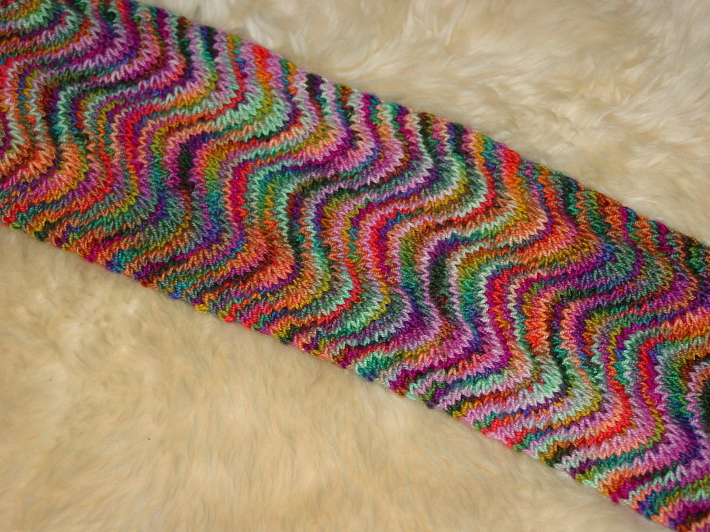 Chevron Knitting Pattern : knit chevron scarf Chevron scarf (pattern from Last ...