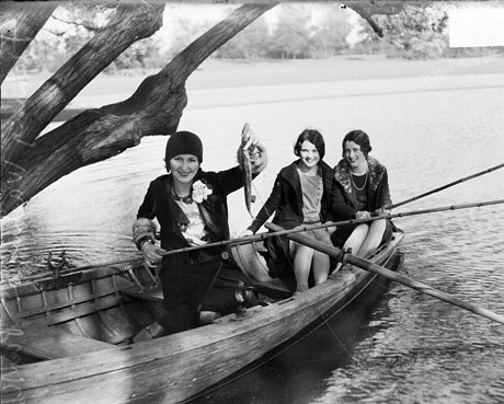 Women fishing mi women having a grand old time don the for Women who fish