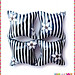 """Im NOT a zebra"" pillow beads"