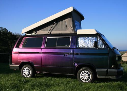 Bw Camper Van >> Type 2.5 VW Camper 1991 | Irredescent paint job on my camper… | Flickr