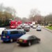 Traffic in Marble Arch