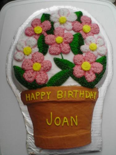 Happy Birthday Joan Here S The Cake I Baked And