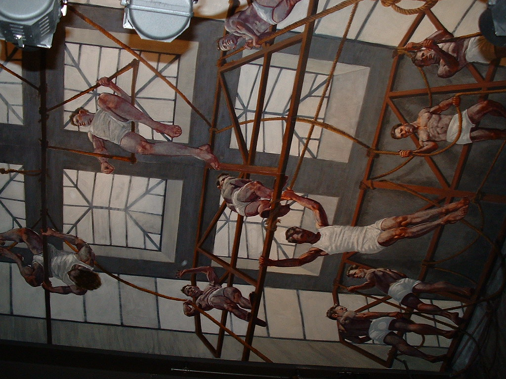 abercrombie fitch ceiling ceiling mural from the