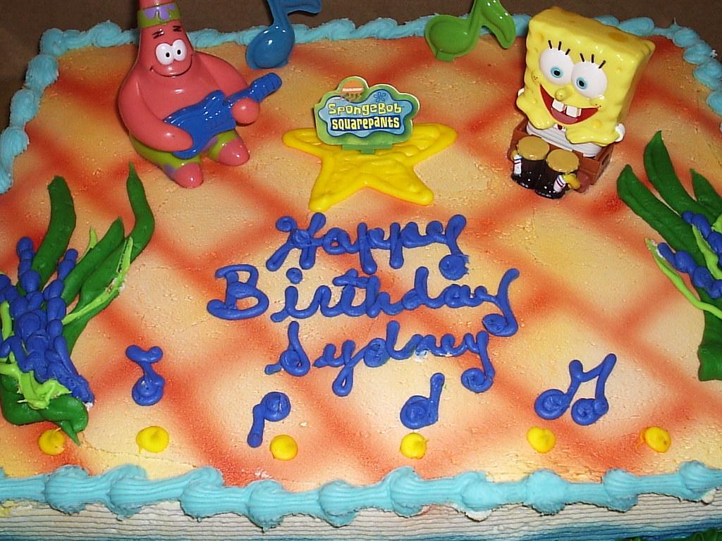 Happy Birthday Sydney Spongebob And Patrick Flickr