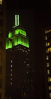 Green on the Empire State Building | by paulaloe
