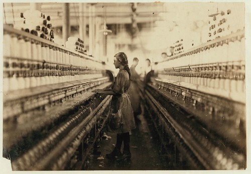 No Known Restrictions: The Spinner by Lewis W. Hine, 1908 (LOC) | by pingnews.com