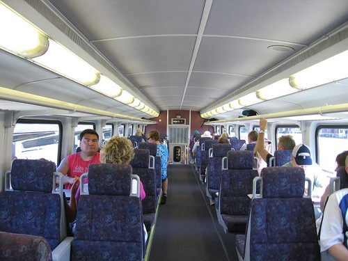 Sounder Train Travel Time
