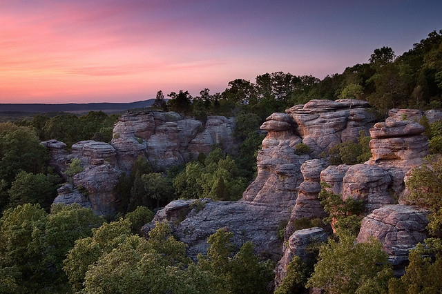 Superior ... Garden Of The Gods Illinois | By Taylor Reed   ShawneeExplorer.com