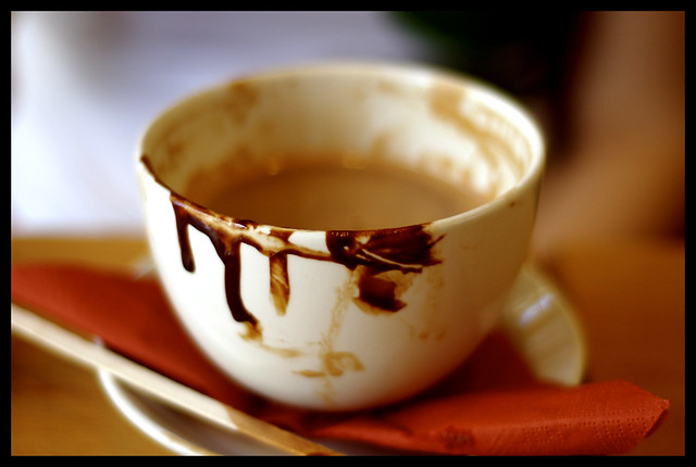 Chocolate Soup - The aftermath | Flickr - Photo Sharing!