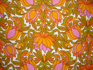 psychedelic 1960s tulip fabric | by Lil Chrissy...