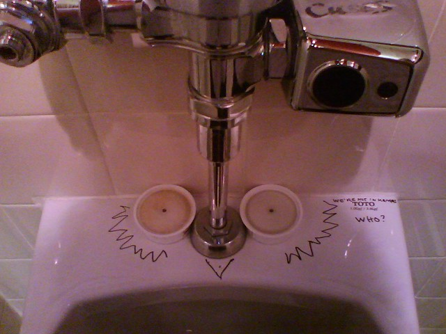 Urinal Cake In Toilet Tank