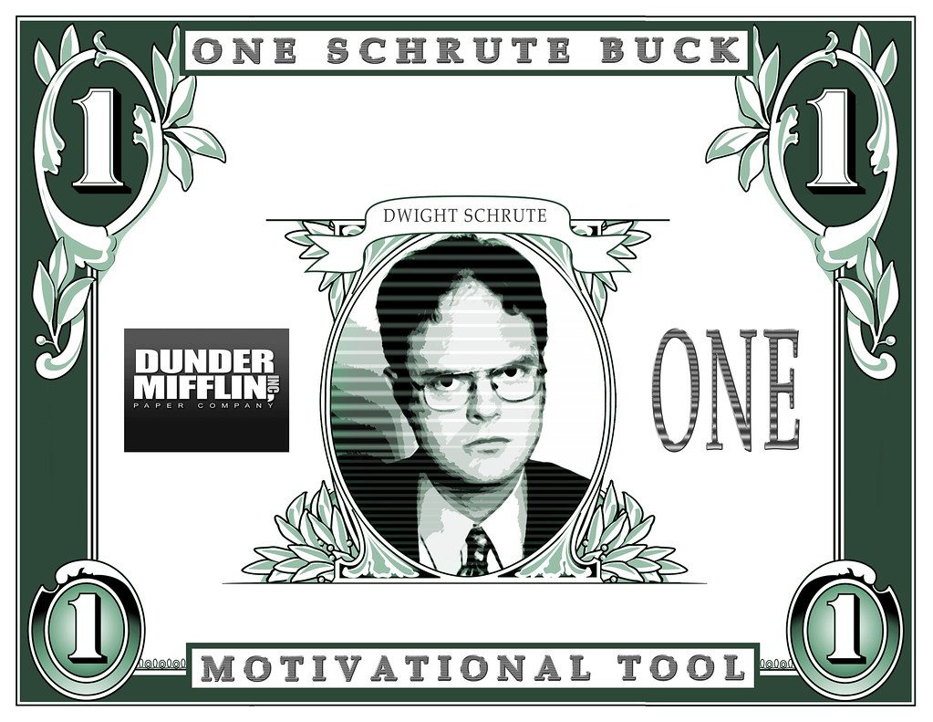 Dwight Schrute Buck Print Your Own With This High Resolut