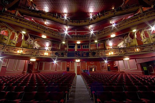 Interior Sunderland Empire Sunderland Empire Theatre
