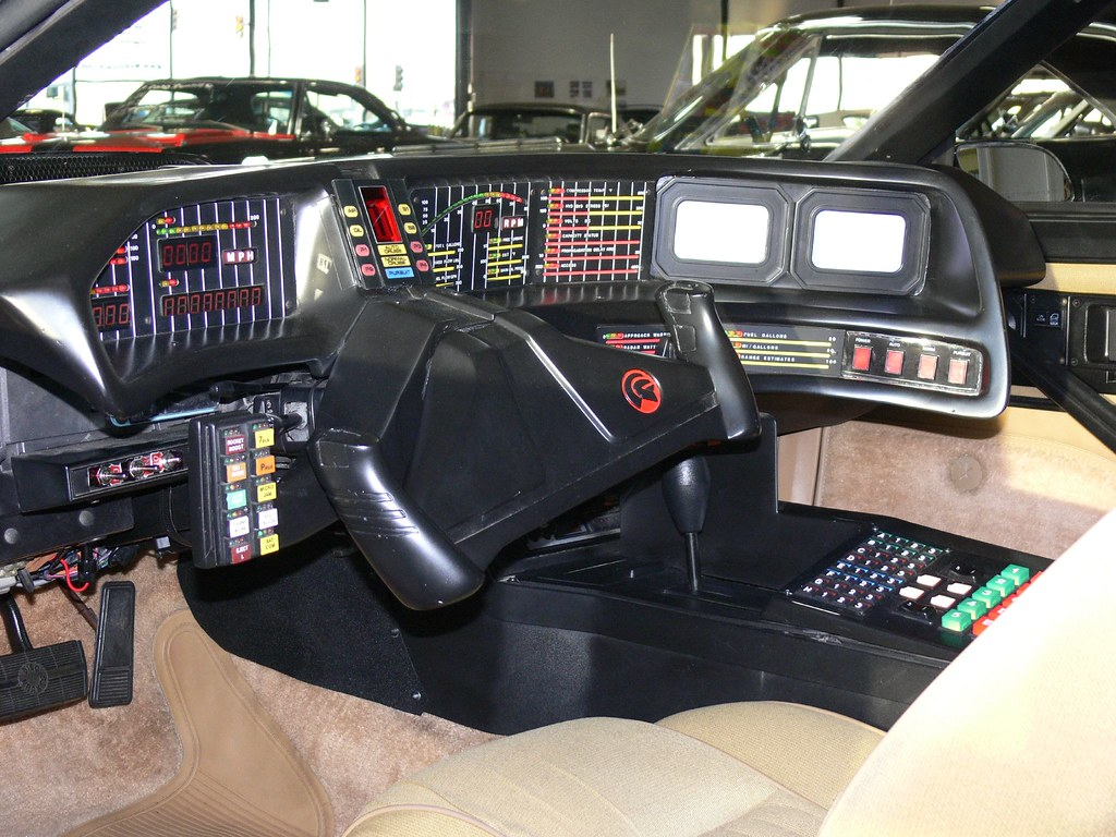 "New Trans Am >> KITT Restored Interior | ""Fully restored, the modified black… 