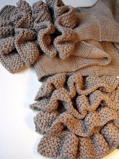 Marc Jacobs Inspired Ruffle Scarf Pattern Designer Inspir Flickr