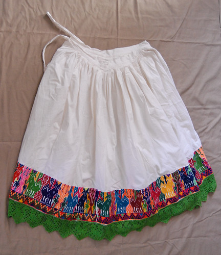 Mazahua Skirt One | This is an ankle length underskirt ...