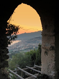 Sunset from Verezzi | by aurora_sogna